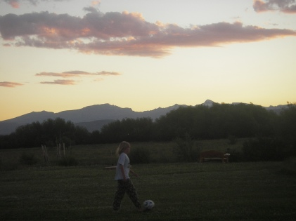 Sunset Futbol Match