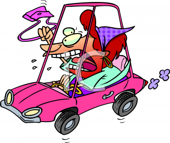 0511-0809-0313-0828_Woman_with_Road_Rage_clipart_image.jpg
